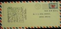 Image of 7721-49 - Cover, Postal, National Airmail Week,  Burwell, Nebraska