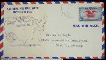 Image of 7721-76 - Cover, Postal, National Airmail Week, Culbertson, Nebraska