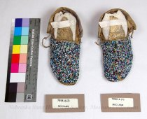 Image of 7898-4-(1-2) - Moccasins, Pair; Child's