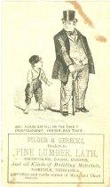 Image of 7956-2379 - Card, Pilger & Gerecke, Pine Lumber, Lath