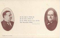 Image of 7956-6051 - Postcard; William Jennings Bryan/Taft