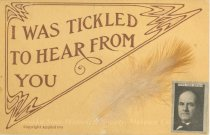 """Image of 7956-6061 - Postcard; William Jennings Bryan; """"I Was Tickled to Hear from You"""""""