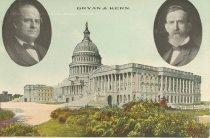 Image of 7956-6065 - Postcard; William Jennings Bryan/Kern