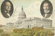 Image of 7956-6066 - Postcard; William Jennings Bryan/Kern
