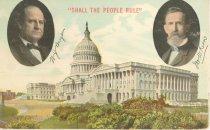 Image of 7956-6067 - Postcard; William Jennings Bryan/Kern