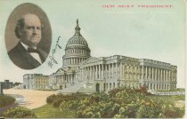 """Image of 7956-6069 - Postcard; William Jennings Bryan; """"Our Next President"""""""