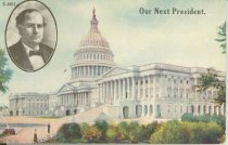 """Image of 7956-6070 - Postcard; William Jennings Bryan; """"Our Next President"""""""