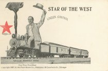 """Image of 7956-6073 - Postcard; William Jennings Bryan; """"Star of the West"""""""