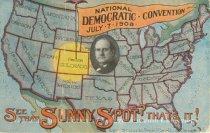 "Image of 7956-6081 - Postcard; William Jennings Bryan; ""National Democratic Convention"""