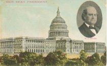 """Image of 7956-6083 - Postcard; William Jennings Bryan; """"Our Next President"""""""