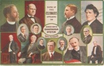 Image of 7956-6084 - Postcard; William Jennings Bryan; Redpath-Vawter Chautauqua System