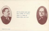 Image of 7956-6087 - Postcard; William Jennings Bryan and William Howard Taft
