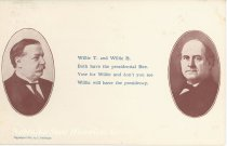 Image of 7956-6088 - Postcard; William Jennings Bryan and William Howard Taft