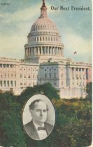 """Image of 7956-6091 - Postcard; William Jennings Bryan; """"Our Next President"""""""