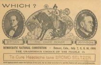 Image of 7956-6096 - Postcard; William Jennings Bryan; Democratic National Convention