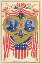 Image of 7956-6107 - Postcard; William Jennings Bryan/Kern