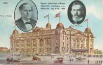 Image of 7956-6110 - Postcard; William Jennings Bryan/Kern