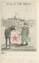 Image of 7956-6115 - Postcard; William Jennings Bryan; Star of the West