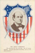 """Image of 7956-6119 - Postcard; William Jennings Bryan; """"First in the Hearts of the Countrymen"""""""