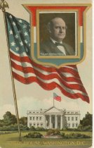 Image of 7956-6121 - Postcard; William Jennings Bryan; White House