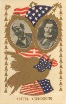 "Image of 7956-6123 - Postcard; William Jennings Bryan/Kern; ""Our Choice"""