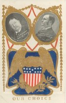 Image of 7956-6125 - Postcard, Political; Taft and Sherman, Our Choice