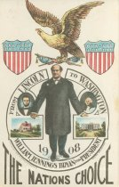 "Image of 7956-6131 - Postcard; William Jennings Bryan; ""From Lincoln to Washington"""