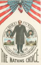 "Image of 7956-6132 - Postcard; William Jennings Bryan; ""From Lincoln to Washington"""