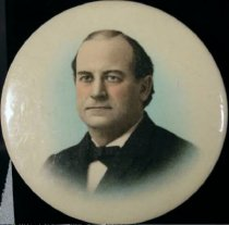 Image of 7957-28 - Button, Political; William Jennings Bryan