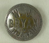 Image of 7957-26 - Button, Political; William Jennings Bryan