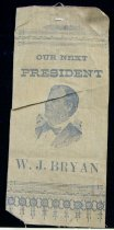Image of 7957-44 - Ribbon, Political; William Jennings Bryan