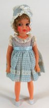 Image of 8024-121 - Doll; Plastic; Girl; Ideal Toy Co.