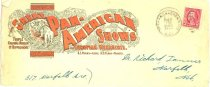 Image of 8073-161 - Envelope, Great Pan-American Shows and European Menagerie