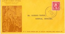 Image of 8073-163 - Envelope, Lyon Curio Store, Clinton, Nebraska
