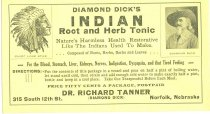 Image of 8073-169 - Envelope, Diamond Dick's Indian Root and Herb Tonic