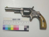Image of 8241-100 - Revolver, Cartridge, Hopkins and Allen Manufacturing Company, Blue Jacket Number 1 1/2 Model