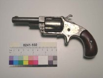 Image of 8241-102 - Revolver, Cartridge, Hopkins and Allen Manufacturing Company, Blue Jacket Number 2 Model