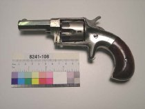 Image of 8241-108 - Revolver, Cartridge, Hopkins and Allen Manufacturing Company, XL Number 4 New York Model