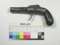 Image of 8241-411 - Pistol, Percussion, Allen and Thurber, Double Action Bar Hammer Model