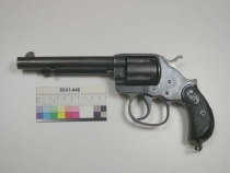"Image of 8241-446 - Revolver, Cartridge, Colt Patent Fire Arms Manufacturing Company, Model 1878 ""Frontier"" 1902 Model"