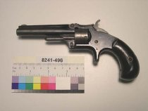 Image of 8241-496 - Revolver, Cartridge, Smith and Wesson, First Model, 3rd Issue
