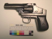 Image of 8241-499 - Revolver, Cartridge, Smith and Wesson, Unknown Experimental Model