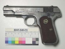 Image of 8241-540-(1) - Pistol, Semi-Automatic, Colt Patent Fire Arms Manufacturing Company, Model 1903 Hammerless Pocket