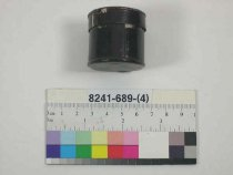 Image of 8241-689-(4) - Box, Cap, Percussion; percussion cap box is associated with cased set 8241-689-(1-8)
