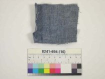 Image of 8241-694-(16) - Textile; textile is associated with cased set 8241-694-(1-18)