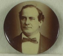 Image of 8300-37 - Button, Political; William Jennings Bryan