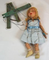 Image of 8322-1 - Marionette; Girl; Goldi Locks; Marjorie Shanafelt