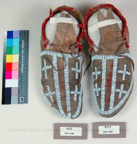 Image of 85-(1-2) - Moccasins; Pair