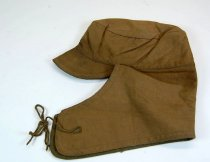 Image of 8595-16 - Helmet, Military; Canvas, Wool Lined