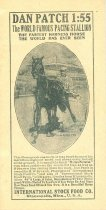 Image of 8601-160 - Booklet, Feeds, Dan Patch 1:55